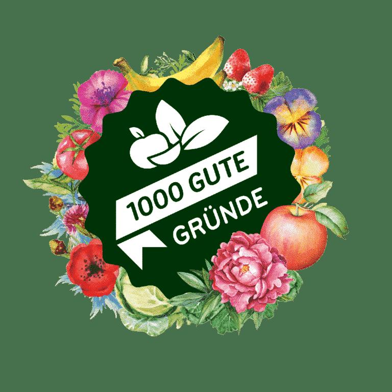 1000 GUTE GRÜNDE Logo
