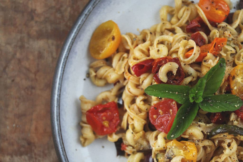 Rezept für ein Antipasti Pasta Salat