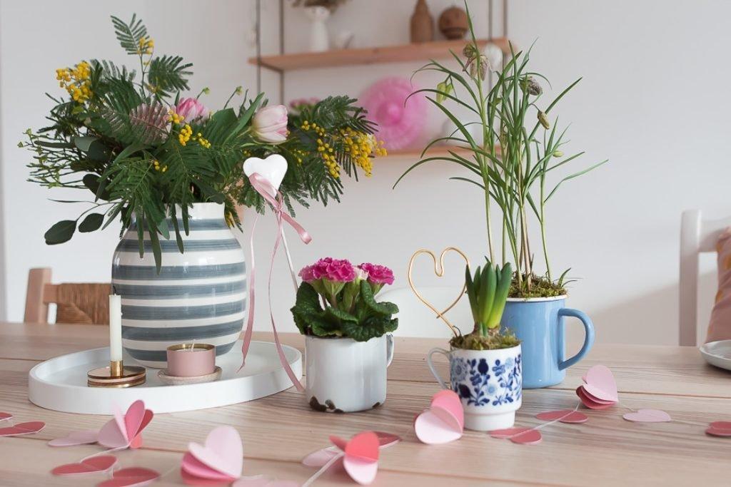 DIY Flohmarkt Fund als Upcycling Blumentopf