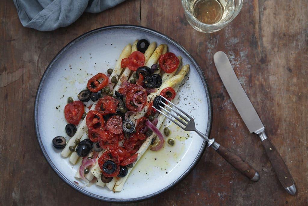 Spargel aus dem Ofen – ein Hauch von mediterraner Küche!