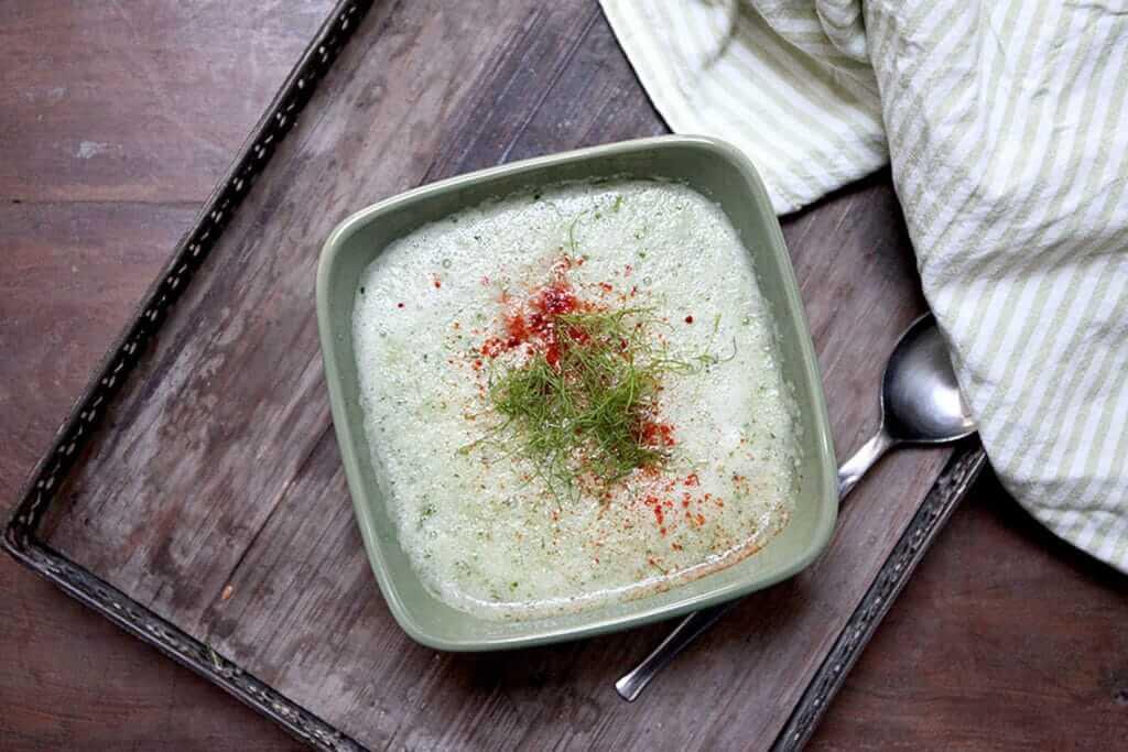 Gurken Fenchel Suppe