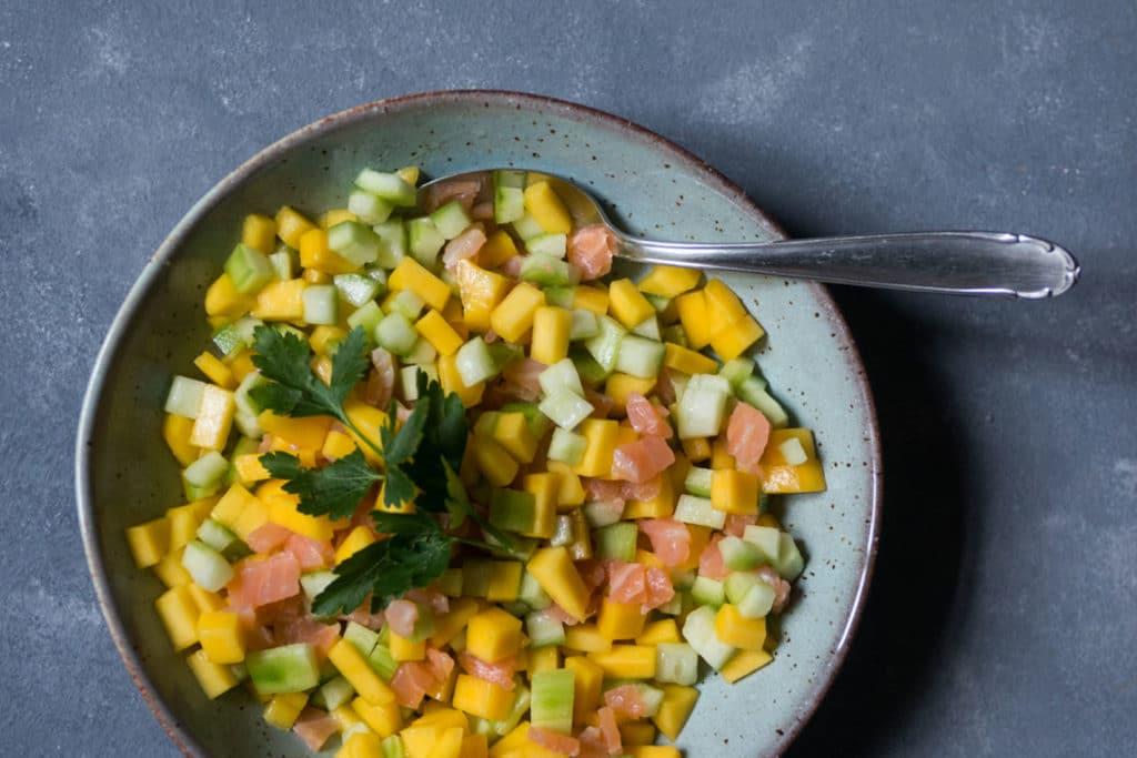 Rezept für den Gurkensalat 2.0