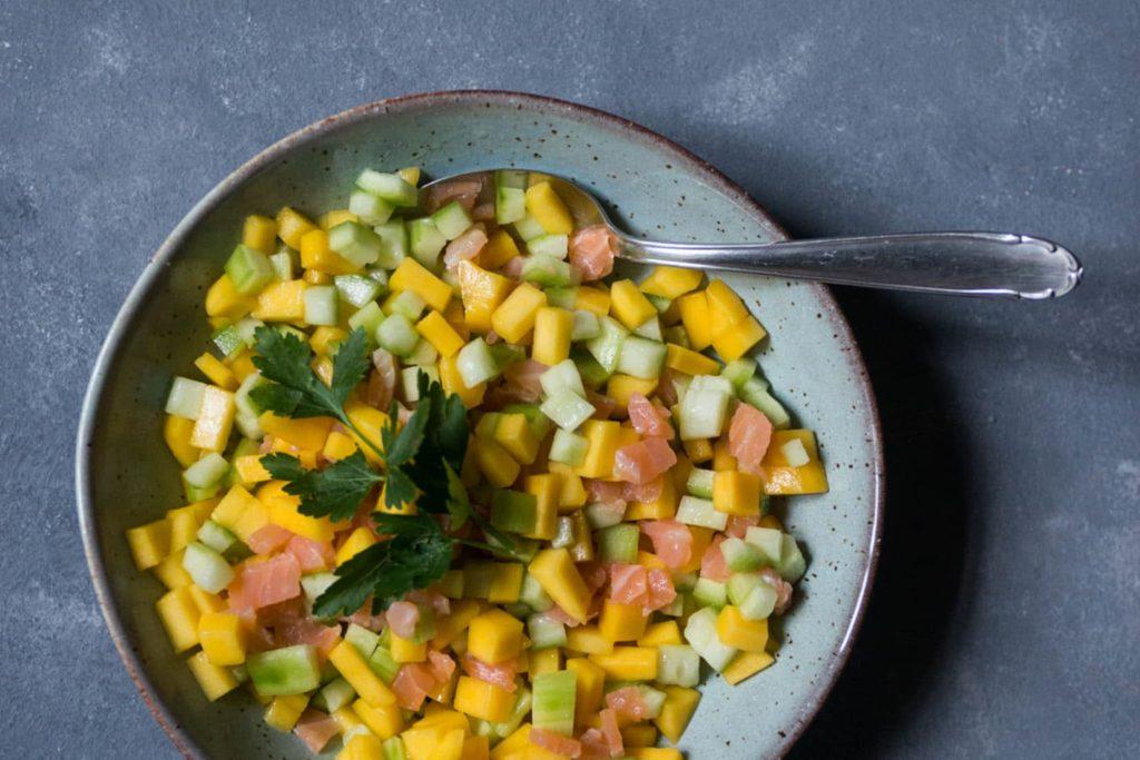 Rezept für Gurkensalat
