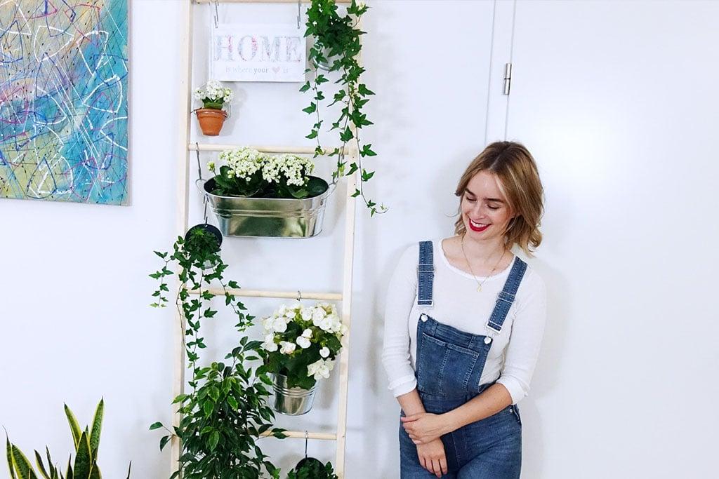 DIY Pflanzenleiter Vertical Garden