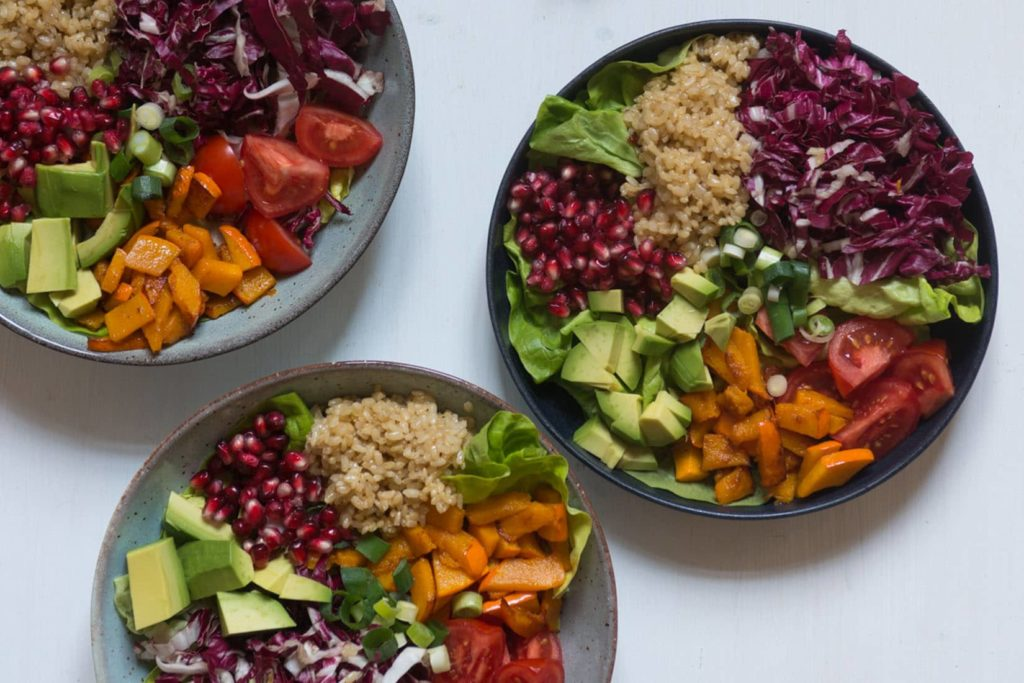 Rainbow Bowl Rezept