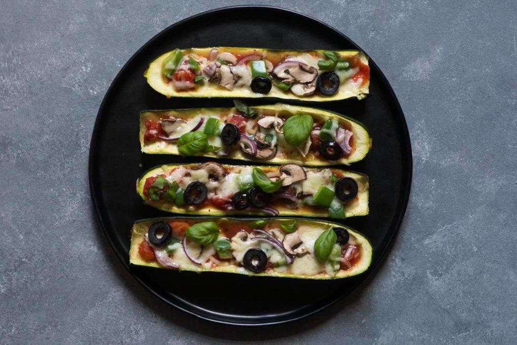Zucchini-Rezept: Zucchini Schiffchen