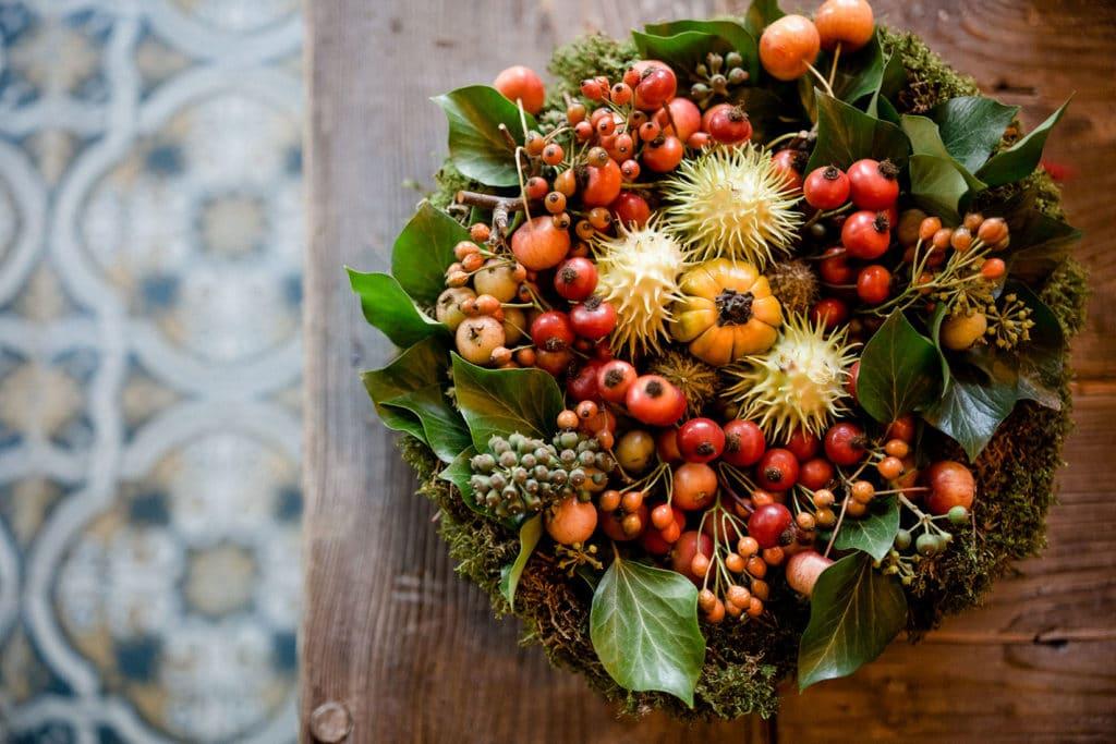 DIY Üppige Blumentorte