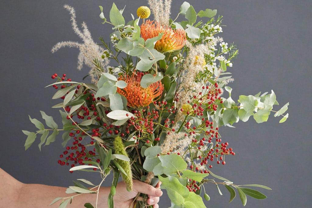 DIY stilvoller Herbststrauß im Vintage Look