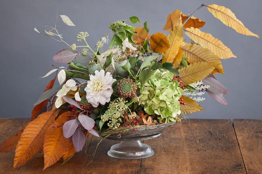 Blumen DIY für den Herbst