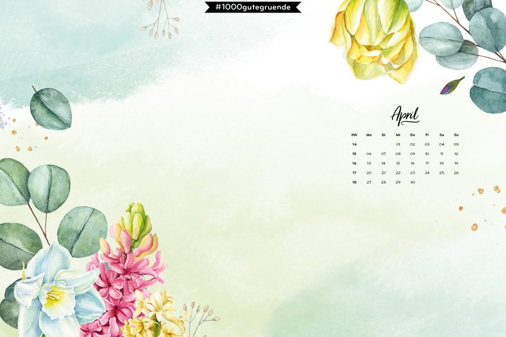 Free Desktop Wallpaper April 2020