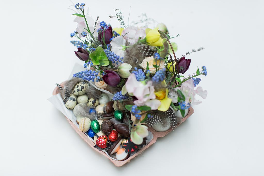 DIY Eiernest zu Ostern