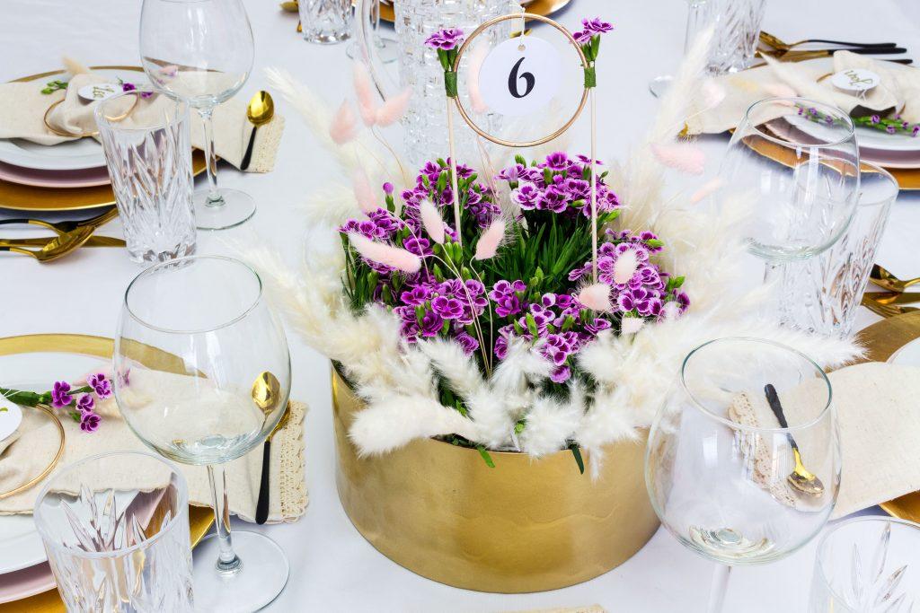 DIY Tischdeko zur Hochzeit