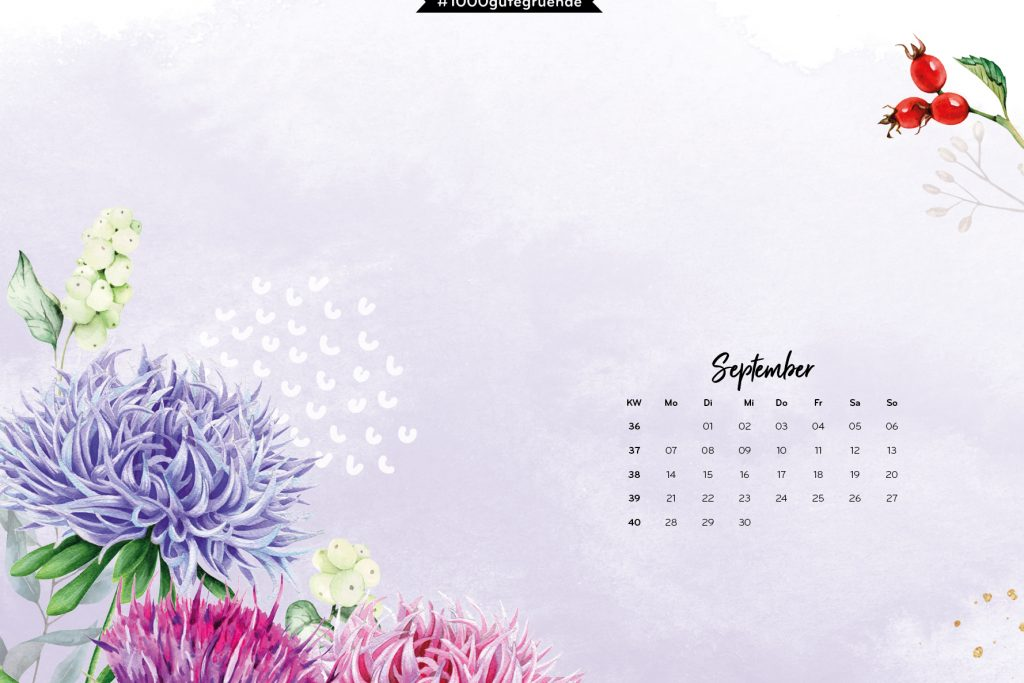 Free Desktop Wallpaper September 2020