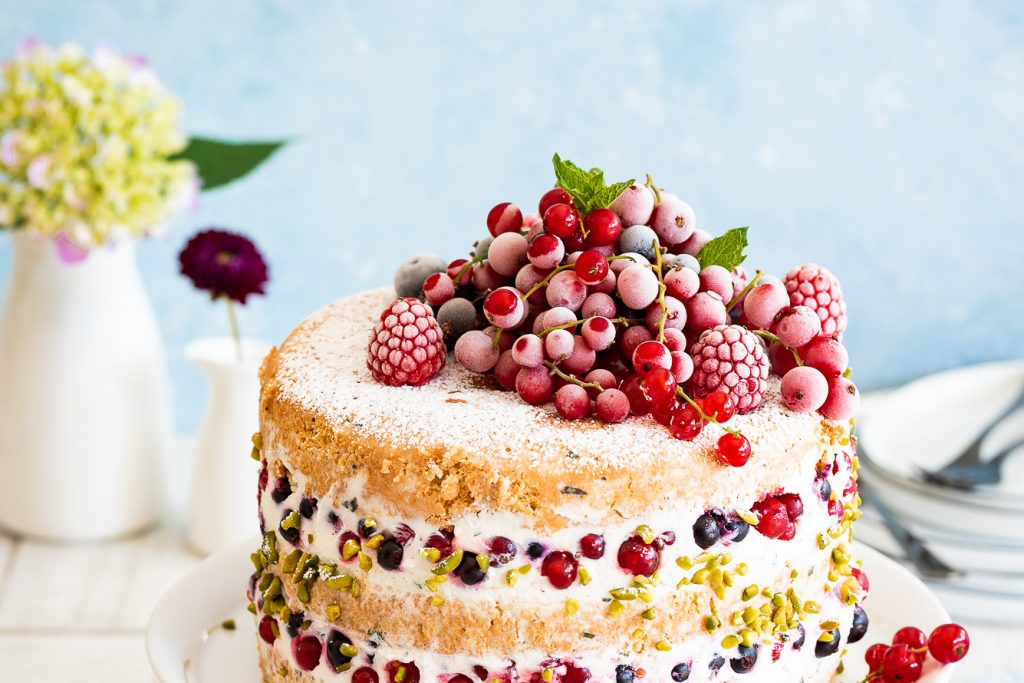 Johannisbeertorte vs. Naked Cake Törtchen