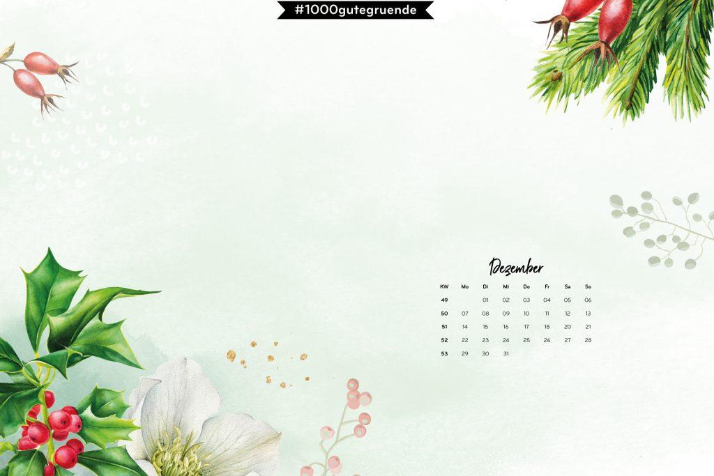 Free Desktop Wallpaper Dezember 2020