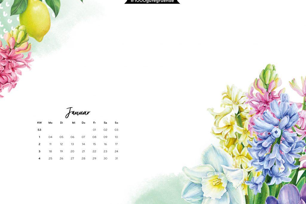 Free Desktop Wallpaper & Printables Januar 2021