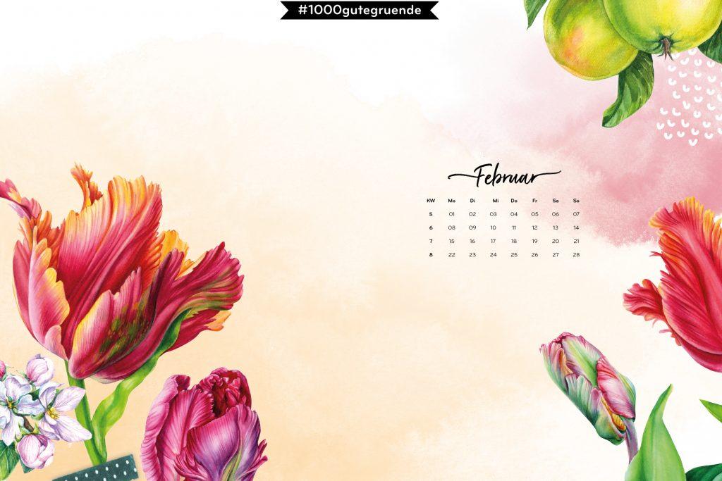 Free Desktop Wallpaper & Printables Februar 2021