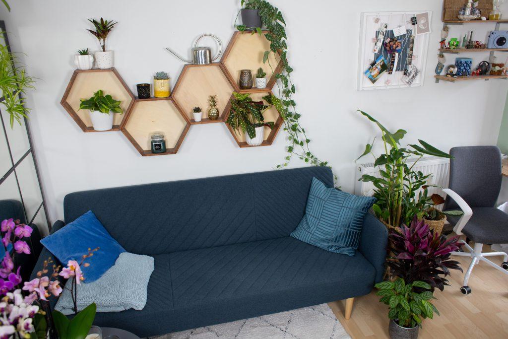 Pflanzen-Makeover | Wohnzimmer & Homeoffice