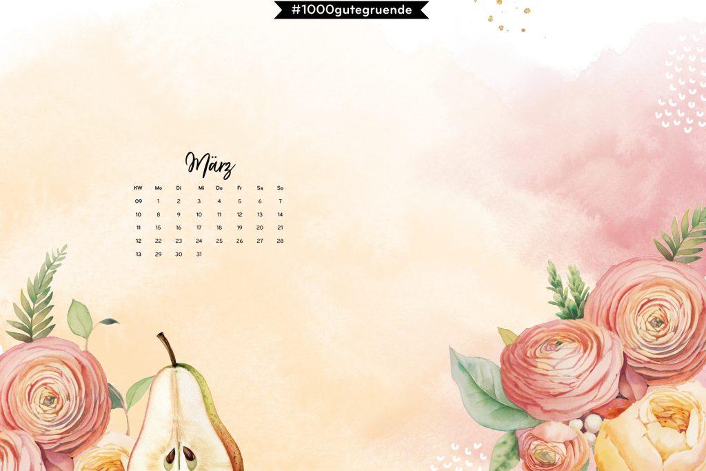 Free Desktop Wallpaper & Printables März 2021