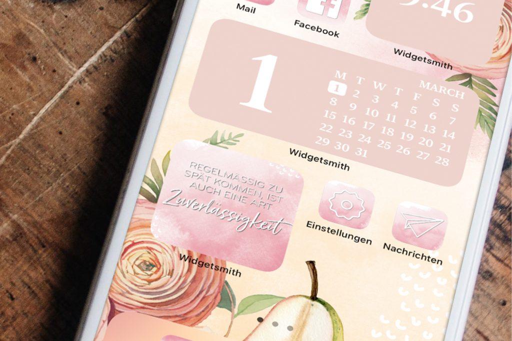 iPhone Widgets März
