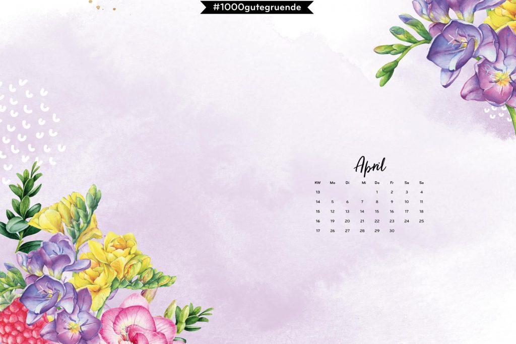 Free Desktop Wallpaper & Printables April 2021
