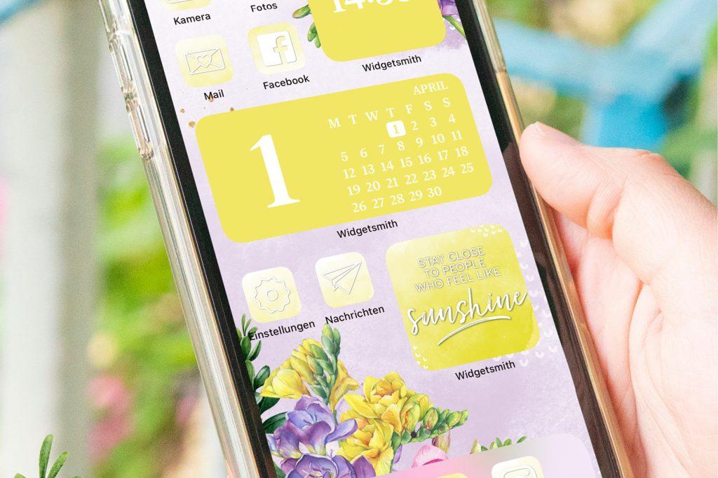 iPhone Widgets April