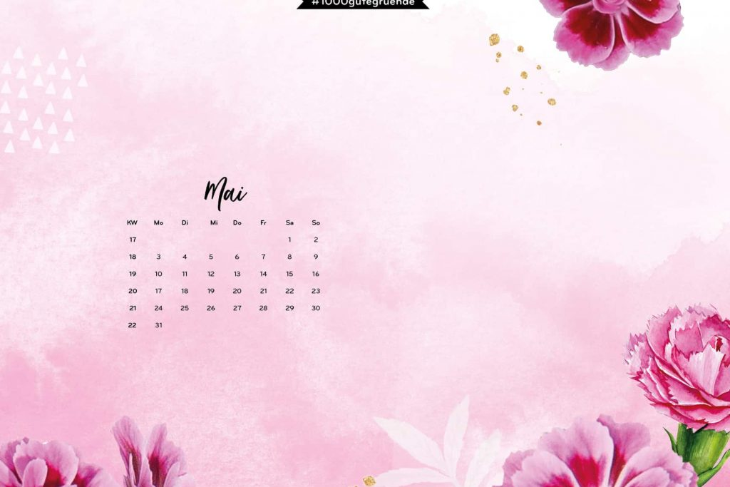 Free Desktop Wallpaper & Printables Mai 2021