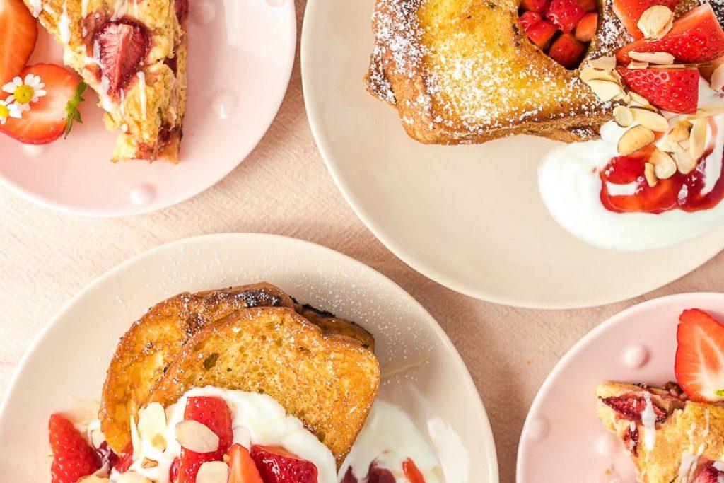 Muttertagsrezepte: Erdbeer-Scones & French Toast