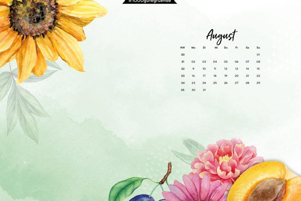 Free Desktop Wallpaper & Printables August 2021
