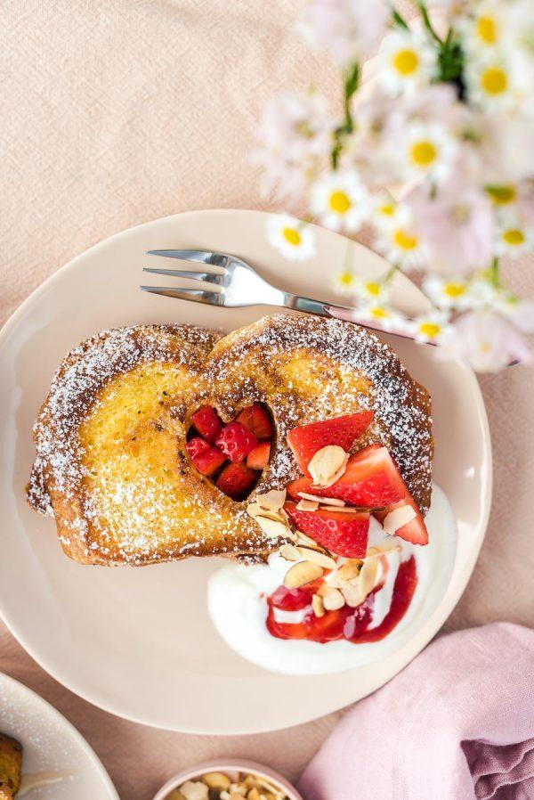 Erdbeer-French-Toast zum Muttertag-9