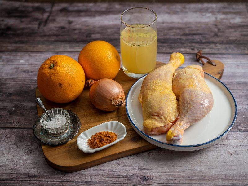 Orangenhähnchen_Zutaten